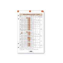 Plánovací kalendář ADK A6 2018