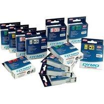 DYMO páska D1 12mmx7m modrý/průhledná