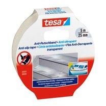 protiskluzová páska Tesa 25mm x 5m transparentní