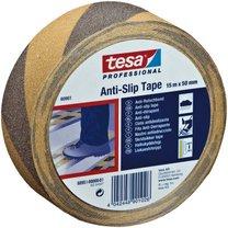 protiskluzová páska Tesa 50mm x 15m výstražná černo-žlutá