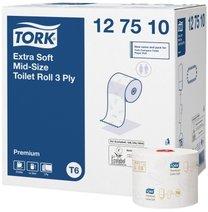 toaletní papír extra jemný 3-vrstvý Tork Mid-size 127510/T6 27 rolí
