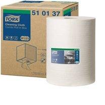 utěrka jemná z netkané textilie Tork 510137/W1/W2/W3/ 1 role