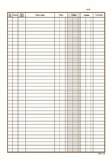 pokladní kniha NCR, A4 č.146, 2x50 listů