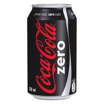 Coca Cola Zero plech 0,33l, 24ks