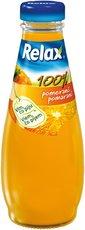 Relax 0,2l sklo pomeranč , 15ks