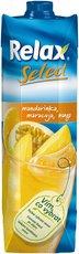 Relax Select mandarinka,maracuja,mango 1l, 12ks