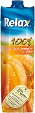 Relax brazilský pomeranč s dužinou 100% 1l, 12ks