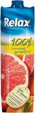 Relax červený grapefruit 100% 1l, 12ks