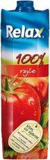 Relax rajče 100% 1l, 12ks