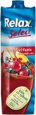Relax Select multivitamín červené ovoce 1l, 12ks