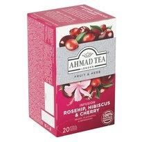 čaj Ahmad Tea Rosehip&Cherry, 20x2g