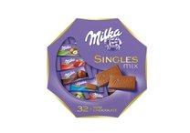 Milka Singles mix, 32ks čokolád 4,7g
