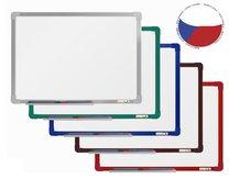 magnetická tabule 150x120cm barevný hlinikový rám