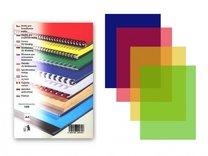 desky pro vazbu barevné A4, 200mic, 100 ks