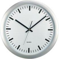 hodiny nástěnné XL Ø45,5cm stříbrné