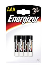 baterie Energizer AAA/LR03, 4ks