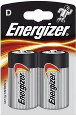 baterie Energizer typ D/LR20, 2ks