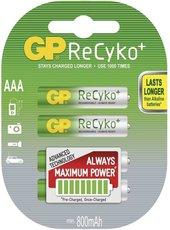 nabíjecí baterie GP Recyko+ ,800mAh AAA. 2ks