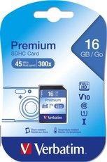 paměťová karta SDHC Verbatim 16GB