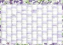 Nástěnný kalendář roční - Levandule