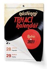 nástěnný kalendář TRHACÍ A5