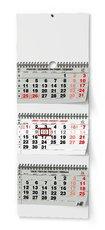 Nástěnný kalendář  Tříměsíční skládaný - s mez. svátky