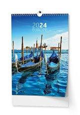 nástěnný kalendář Evropa