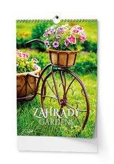 Nástěnný kalendář  Zahrady