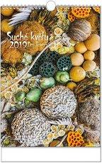 Nástěnný kalendář Suché květy