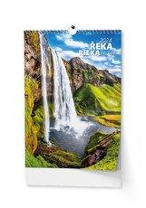 Nástěnný kalendář Řeka čaruje