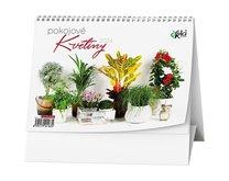 Stolní kalendář Pokojové květiny