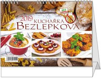 Stolní kalendář Bezlepková kuchařka