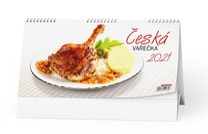 Stolní kalendář Česká vařečka