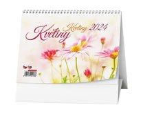 stolní kalednář KVĚTINY