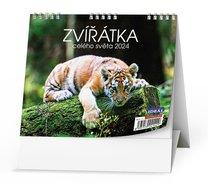 Stolní kalendář Zvířátka