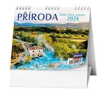 Stolní kalendář Příroda, hory, řeky, jezera....