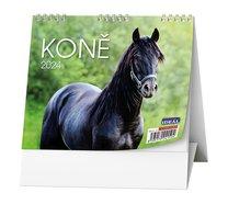 Stolní kalendář  Koně