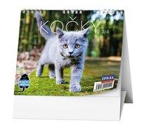 Stolní kalendář Kočky