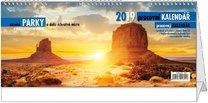 Stolní kalendář pracovní- Národní parky