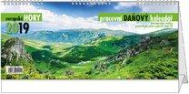Stolní kalendář Daňový kalendář evropské hory