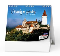 Stolní kalendář - Hrady a zámky