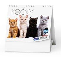 Stolní kalendář - Kočky /s kočičími jmény/