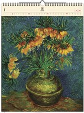 Nástěnný kalendář dřevěný - Vincent