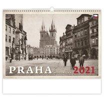 nástěnný kalednář PRAHA HISTORICKÁ