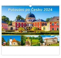 Nástěný kalendář Putování po Česku