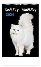 Nástěnný kalendář- Kočičky/Mačičky