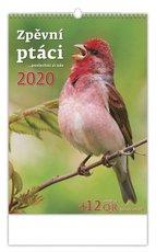 Nástěnný kalendář- Zpěvní ptáci