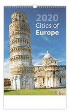 Nástěnný kalendář- Cities of Europe