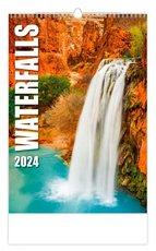 Nástěnný kalendář- Waterfalls