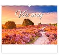 Nástěnný kalendář Via